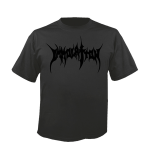 T-Shirt:  Black Logo on Grey T-shirt