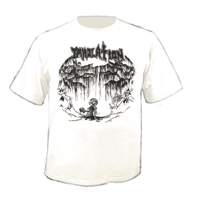 T-Shirt: 88 Demo_WhiteTS/BlkPrnt