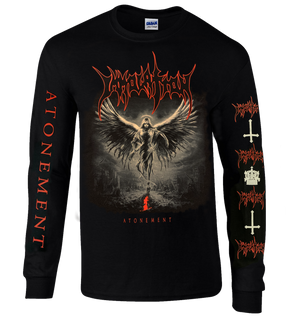 "Long Sleeve Shirt: ""Atonement""  (Grayscale)"