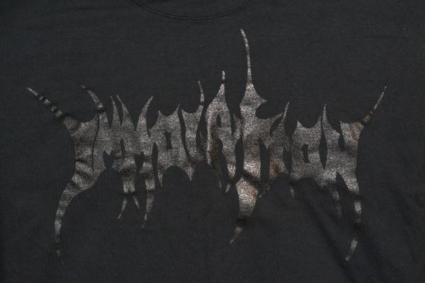 T-Shirt:  Black on Black Logo