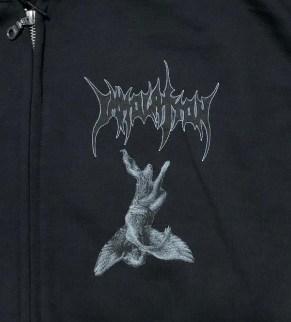 """Zip Hoodie: """"Dawn of Possession"""" - Demon/Angel"""