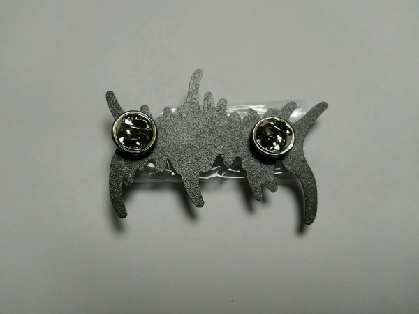 PIN:  Logo / Matte Finish