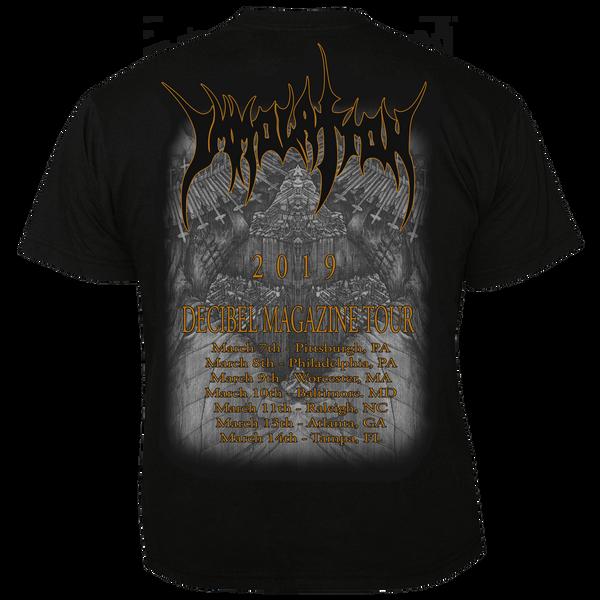 T-Shirt: Decibel Magazine Tour 2019 (Size 'S' Only)