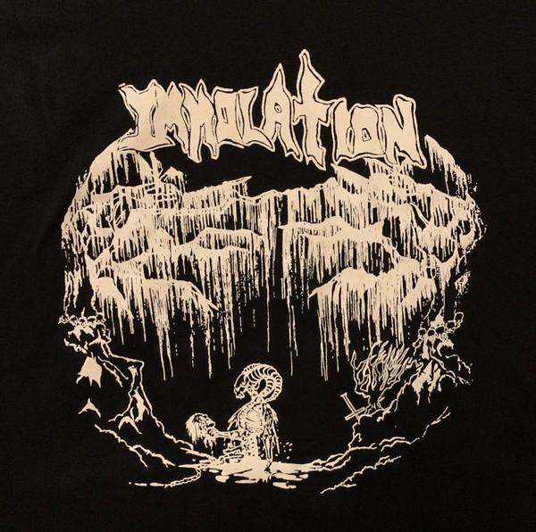 T-Shirt: 88 Demo_BlkTS/WhtPrnt