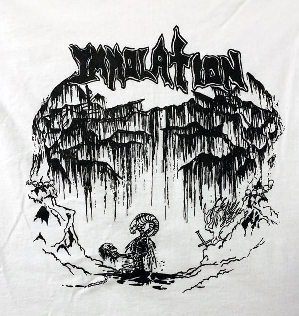 T-Shirt: 88 Demo_WhiteTS/BlkPrnt