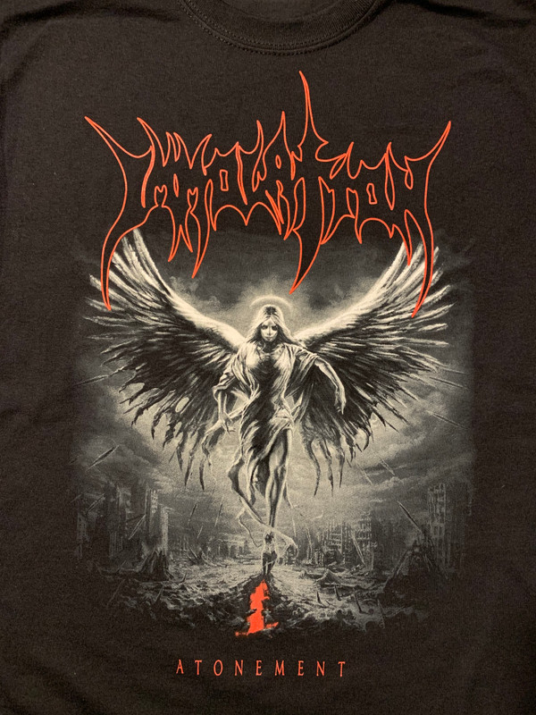 "T-Shirt: ""Atonement""  (Grayscale)"