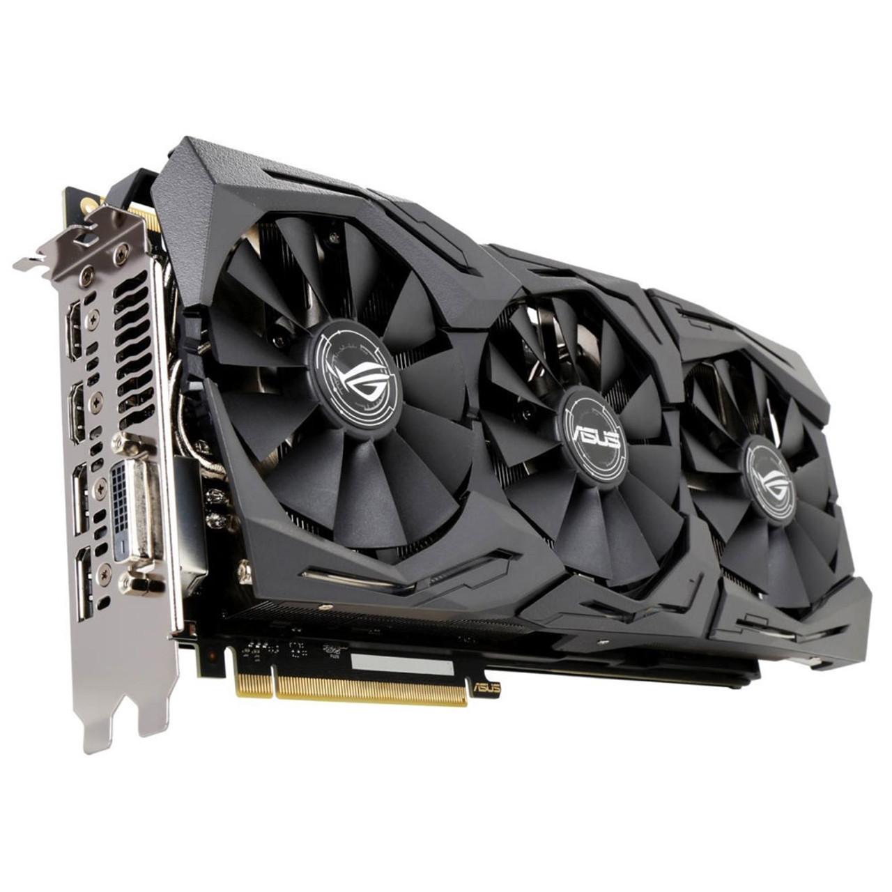 ASUS GeForce GTX 1080 Ti STRIX ROG Overclocked 11GB GDDR5X GAMING Video Card