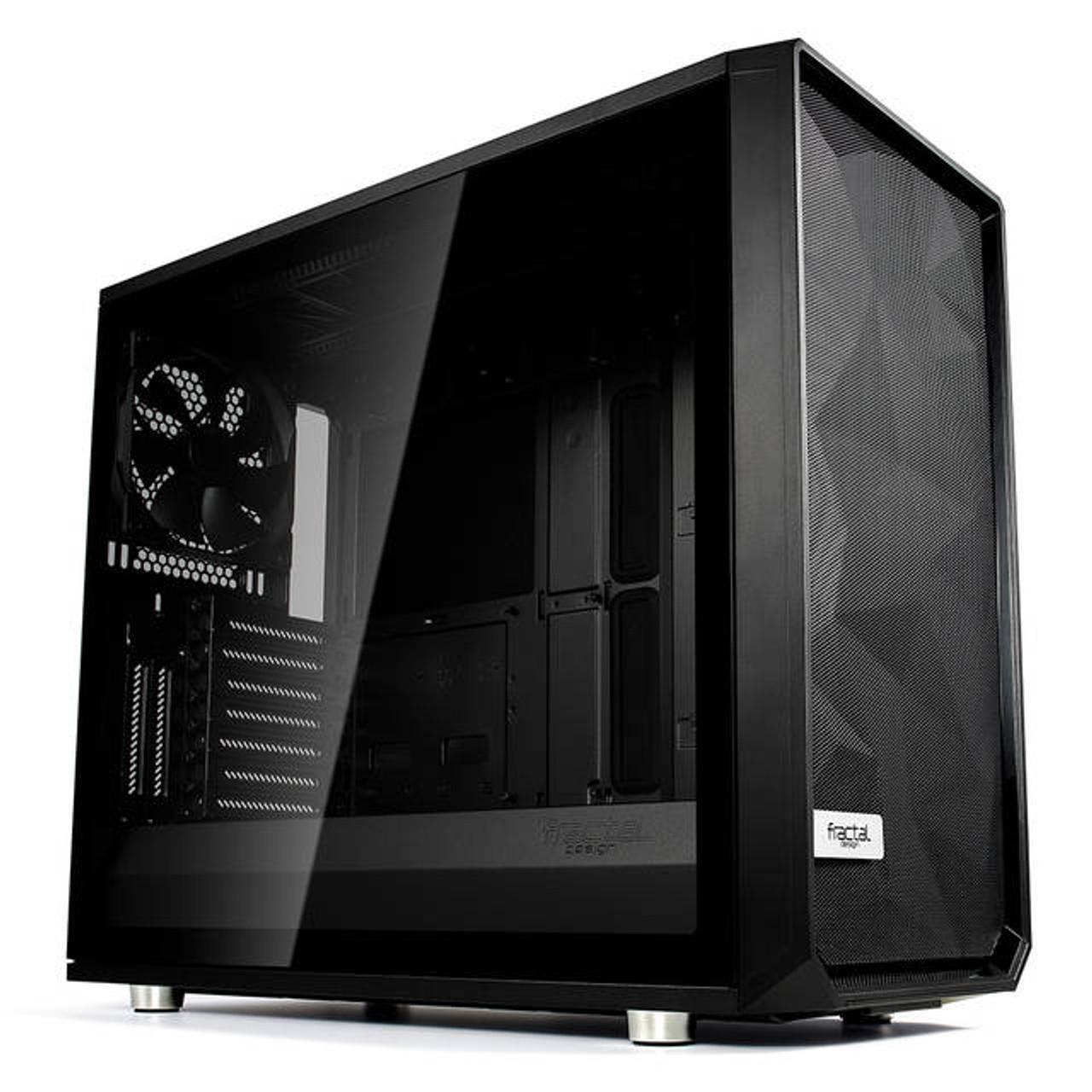 Dark TG FD-CA-MESH-C-BKO-TG Black ATX Mid Tower Compu Fractal Design Meshify C
