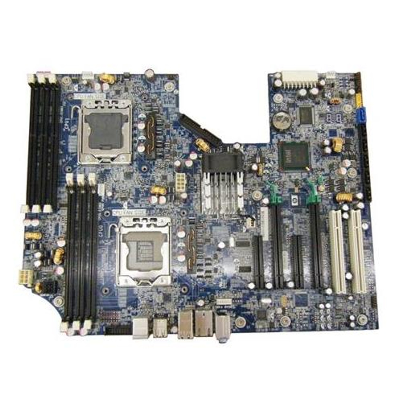 Part No: 619559-001 - HP System Board (MotherBoard) Dual CPU for Z620  Workstation