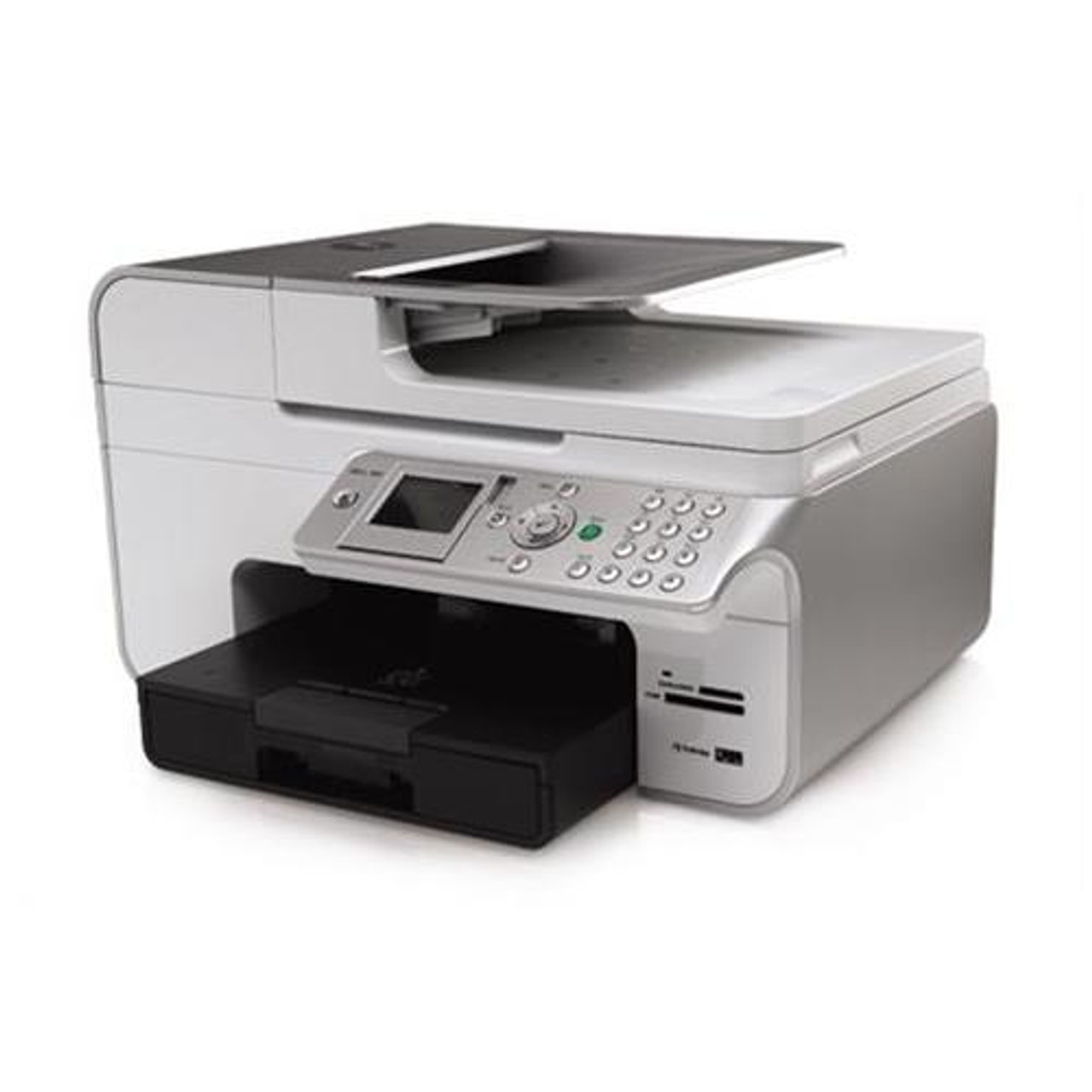 Part No: 46-46 - Dell V46w All-In-One Scanner/copier/Fax/Printer  46/46ppm 46dpi Red (Refurbished)