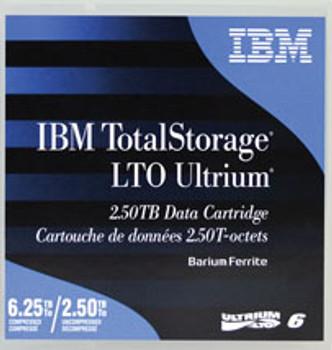 IBM 00V7594L LTO-6 2.5TB/6.25TB (BaFe) Backup Tape - 20/Pack - Pre Labeled