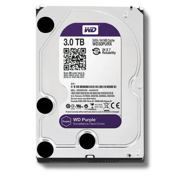 Western Digital Purple WD30PURX 3TB IntelliPower SATA3/SATA 6.0 GB/s 64MB Hard Drive (3.5 inch)