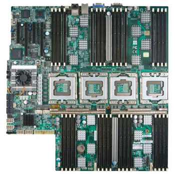 Part No: MBD-X8QBE-F-B - SuperMicro Intel 7500 Xeon 7500 Series (8-Core)/ Xeon E7-4800 (10-Core) Processors Support