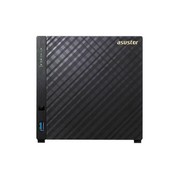 ASUSTOR AS3104T Intel Celeron 1.6GHz/ 2GB DDR3L/ 1GbE/ USB3.0/ 4-bay Desktop NAS
