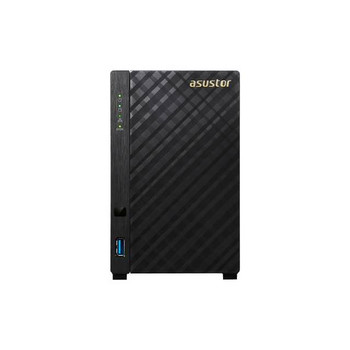 ASUSTOR AS3202T Intel Celeron 1.6GHz/ 2GB DDR3L/ GbE/ USB3.0/ 2-bay Desktop NAS