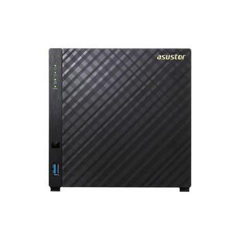 ASUSTOR AS1004T Marvell ARMADA-385 1.0GHz/ 512MB DDR3/ GbE/ USB3.0/ 4-bay Desktop NAS