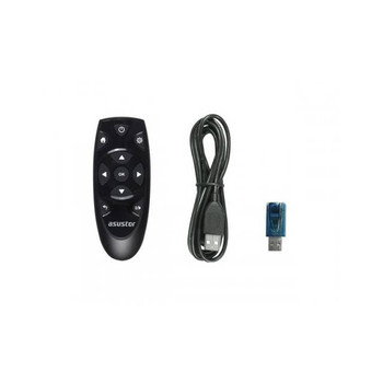 ASUSTOR IR Remote Control with USB IR Receiver for AS-6