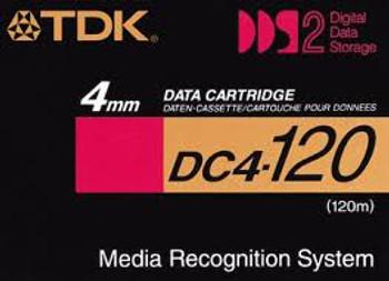 TDK DC4-120 DDS-2 4GB/8GB Backup Tape -  Pack