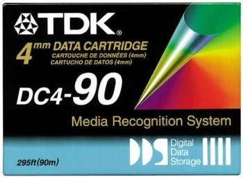 TDK DC4-90 DDS-1 2GB/4GB Backup tape -  Pack