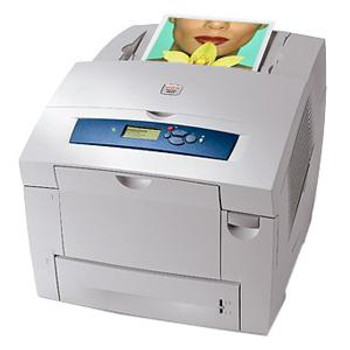 Part No: 8500/N - Xerox Phaser 8500N Solid Inkjet Printer Color 24 ppm Mono 24 ppm Color Fast Ethernet PC Mac (Refurbished)