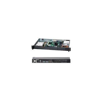Supermicro CSE-502L-200B 200W Mini 1U Rackmount Server Chassis (Black)
