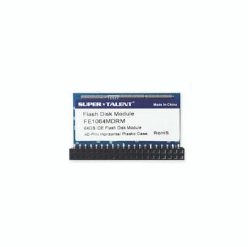 Super Talent 40-pin IDE Horizontal 64GB IDE Flash Disk Module (MLC)