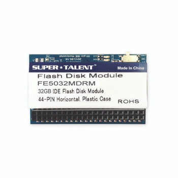 Super Talent 44-pin IDE Horizontal 32GB IDE Flash Disk Module (MLC)