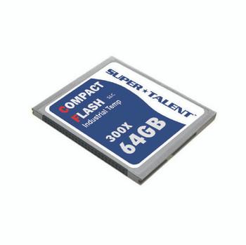 Super Talent 300X 64GB I-Temp CF Memory Card (MLC)
