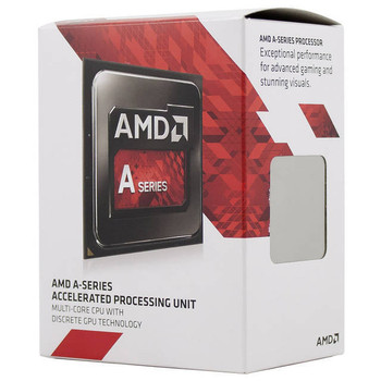 AMD A10-7870K Quad-Core APU Godavari Processor 3.9GHz Socket FM2+ w/ Quiet Fan,