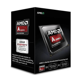 AMD A10-6800K Quad-Core APU Richland Processor 4.1GHz Socket FM2,  (Black Edition)