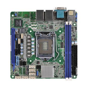 ASRock Rack E3C236D2I LGA1151/ Intel C236/ DDR4/ SATA3USB3.0/ V&2GbE/ Mini-ITX Server Motherboard