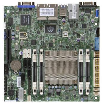 Supermicro A1SRI-2558F-B Intel Atom C2558/ DDR3/ SATA3USB3.0/ V&4GbE/ Mini-ITX Motherboard & CPU Combo