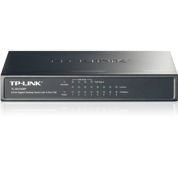 TP-Link TL-SG1008P 8-Port Gigabit Desktop Switch w/ 4-Port PoE