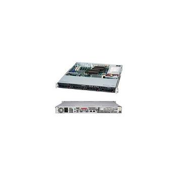 Supermicro CSE-813MTQ-600CB 600W 1U Rackmount Server Chassis (Black)