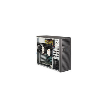 Supermicro CSE-732D4F-903B 900W Mid-Tower Server Chassis (Black)
