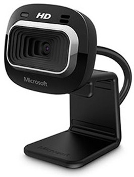 Microsoft LifeCam HD-3000 1280 x 720pixels USB 2.0 Black webcam
