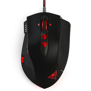 Patriot Memory Viper V560 Laser USB Laser 12000DPI Right-hand Black,Red mice