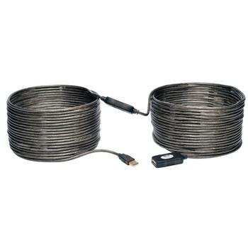 Tripp Lite U026-20M 20m USB A USB A Male Female Grey USB cable