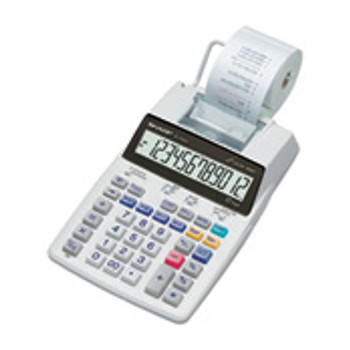 Sharp EL-1750V Pocket Printing calculator White calculator