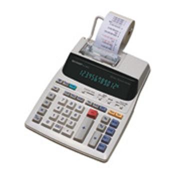 Sharp EL-1801V Pocket Printing calculator White calculator