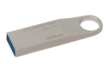 Kingston Technology DataTraveler SE9 G2 128GB 128GB USB 3.0 (3.1 Gen 1) Capacity Silver USB flash dri