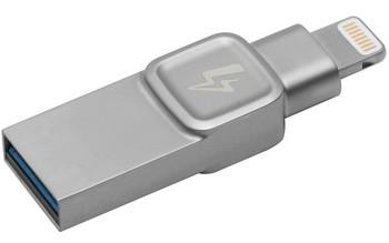 Kingston Technology DataTraveler Bolt Duo, 32GB 32GB USB 3.0 (3.1 Gen 1) Capacity Silver USB flash dr