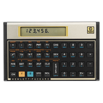 HP 12C Financial Programmable Calculator calculator