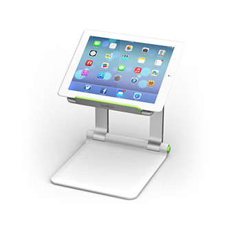 Belkin B2B118 Tablet Multimedia stand Green, Silver multimedia cart/stand