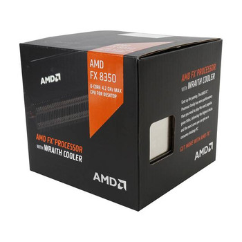 AMD FX-8350 Eight-Core Vishera Processor 4.0GHz Socket AM3+ (Refubished)