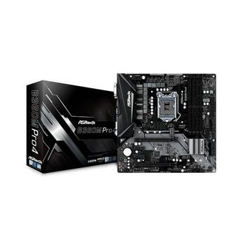 ASRock B360M PRO4 LGA1151/ Intel B360/ DDR4/ Quad CrossFireX/ SATA3&USB3.1/ M.2/ A&GbE/ MicroATX Moth