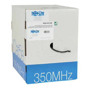 Tripp Lite N022-01K-BK 305m Cat5e Black networking cable