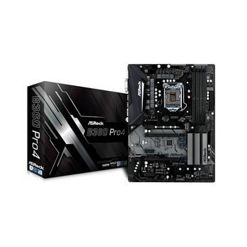 ASRock B360 PRO4 LGA1151/ Intel B360/ DDR4/ Quad CrossFireX/ SATA3&USB3.1/ M.2/ A&GbE/ ATX Motherboar