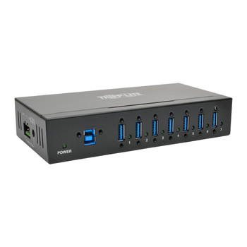 Tripp Lite U360-007-IND USB 3.0 (3.1 Gen 1) Type-B 5000Mbit/s Black interface hub
