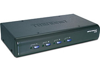 Trendnet TK-423K 4-Port USB / PS/2 KVM Switch Kit w/ Audio KVM switch